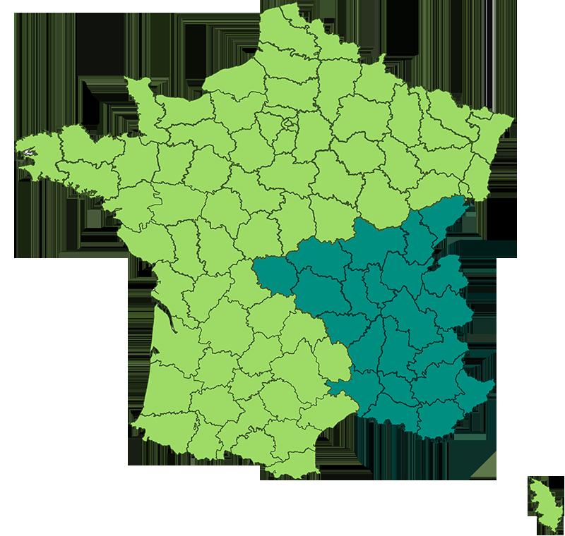 CARTE FRANCE-3